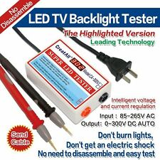 New 0-300V Output All Size LED LCD TV Backlight Tester Tool Lamp Beads
