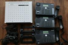 Aastra 430 ISDN-Telefonanlage + 3x Aastra 5370 Telefone