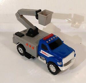 Hasbro Tonka Toughest Minis Utility Truck Flashing Lights Sounds