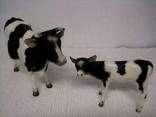 Vintage 1972-1973 Mold Breyer Molding Co. #341 Holstein Cow & #347 Calf
