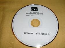 LE SECRET DES 7 VOLCANS DVD PROMOTIONNEL (Video-club) Jonathan KING