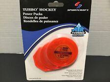 Air Hockey Power Pucks Turbo SportCraft 2 Round 1 Octagon New