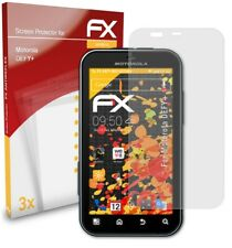 atFoliX 3x Screen Protection Film for Motorola DEFY+ matt&shockproof