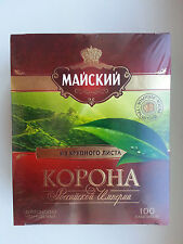 Black tea Mayskiy Crown of the Russian Empire 100 bags