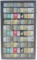 Large 90 Sport Zippo Lighter Display Case Wall Cabinet Shadow Box LC06-BLA