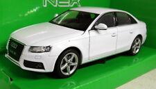 Nex models 1/24 Scale 22512W Audi A4 2009 White diecast Model Car