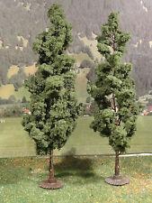 Bäume Jordan Pappeln je 18 cm 2 St. H0 0 und 1 für Modellbahn Anlage
