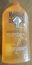 *LE PETIT MARSEILLAIS Douche huile de soin NUTRITION Argan + fleur oranger *NEUF