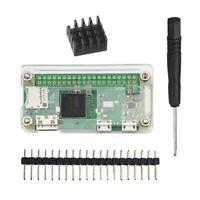 For Raspberry Pi Zero W Pi Zero Acrylic Case With Heat Sink Module Accessories