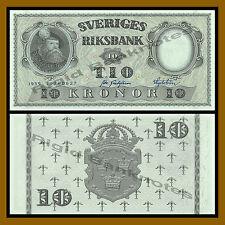 Sweden 10 Kronor, 1959 P-43 Unc
