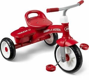 Radio Flyer Trike Childrens Toddler Ride On Tricycle Red Bike Kids New