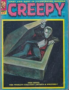 Vintage Warren CREEPY Magazine #47 early issue