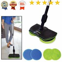 Rechargeable, Cordless, Powered Floor Cleaner Scrubber Polisher Mop FDD