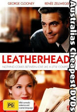 Leatherheads DVD NEW, FREE POSTAGE WITHIN AUSTRALIA REGION 2, 4, 5