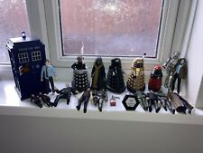 More details for dr who large figures bundle plus tardis with lights and sounds