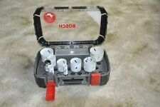 BOSCH Progressor HOLESAW Set Kit 9 Piece plus 3 extra holesaws