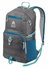 "Granite Gear Flint/Bleumine Eagle 15.5"" Laptop School Campus Backpack Book Bag"