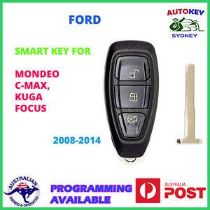 Ford mondeo focus kuga c-max smart key 2007 2008 2009 2010 2011 2012 2013 2014