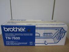 TONER ORIGINALE BROTHER tn-7600 con fattura per 1650 1670 1850 1870 NUOVO & OVP