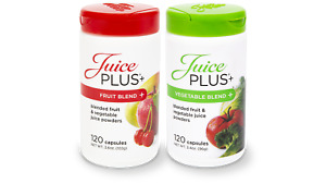 NEW SEALED JUICE PLUS+ Fruit Blend 2 Month Supply 120 Capsules EXP 12/2022