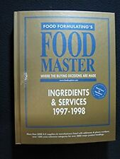 Food Master: Ingredients and Services/Equipment, Supplies and Services 1997-1998