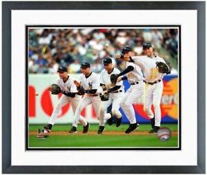 """Derek Jeter New York Yankees Multi-Exposure Photo (Size: 12.5"""" x 15.5"""") Framed"""