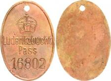 German South West Africa Indigenous PASS mark Nr.16802 Luederitzbucht PASS ss