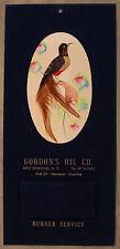 Original 1959 Good Luck Mystery Bird Calendar East Moriches NY