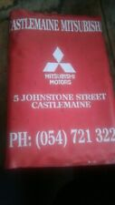 Mitsubishi Magna TF Operators Manual/Service Book in Dealer Pouch