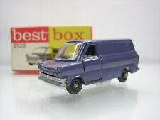 Diecast Best-box Ford Transit No.2522  Purple Mint Condition in Box Rare/Selten