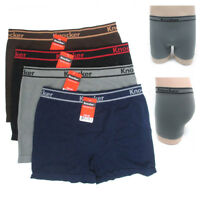 12 Knockers Mens Seamless Boxers Briefs Underwear Athletic One Size Underpants !