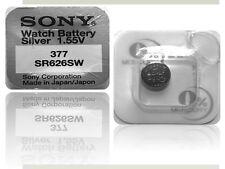 20x Batterien Sony 377 V377 Knopfzellen Uhren SR626SW  bis 2019