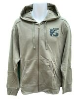 NEW Vintage NIKE Sportswear Track and Field Hoodie Jacket Military Green L