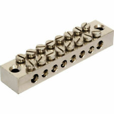 8 WAY EARTH BLOCK  TERMINAL CONNECTION UNIT (Various Quantities)✔ Free Delivery✔