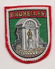 Brussels Belgium Souvenir Patch