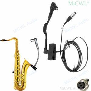 Cardioid Instrument Microphone For Shure TA4F mini 4Pin Wireless Studio Mics