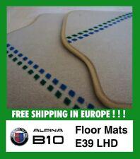 BMW ALPINA B10 (E39) LHD Floor mats Replica fußmatten BEIGE Quality Velour B10