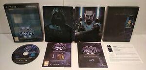 Star Wars Le pouvoir de la force 2 Collector Steelbook PS3 Region Free Complet
