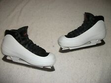 PRO QUALITY CCM 452 TACKS ICE HOCKEY GOALIE SKATES MENS SIZE 6-1/2 GREAT SHAPE