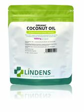 Lindens Coconut Oil 1000mg Rapid Release 90 Capsules Fatty Acids Mct Oil