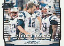 2016 Score  TOM BRADY  Sidelines  insert  New England Patriots