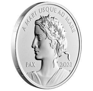 Kanada - 1 Dollar Silber 999,9 Ag Be / Probedruck 2021 - Paix / Peace / Pax