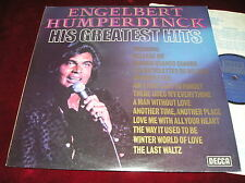 ENGELBERT HUMPERDINCK - HIS GREATEST HITS - ORIGINAL UK LP