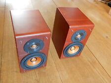 Pair Of JVC SP- EXA 10 Wood Cone Speaker SP-EXA10