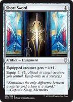 MTG x4 Short Sword Dominaria Common Artifact NM/M Magic the Gathering