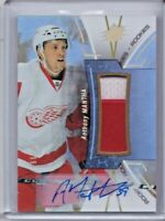 ANTHONY MANTHA 16-17 2016-17 ROOKIE PATCH AUTO #R-MA 2/99 DETROIT RED WINGS 2CLR