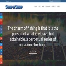 "Sitio web completamente abastecido DropShipping Pesca Tienda."" 300 hits un día"""