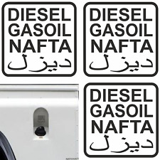 3x 7cm Aufkleber Diesel OFF ROAD Autoaufkleber Sticker  Rallye 4x4 Gasoil Tank F