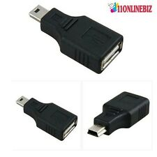 Android Tablet USB Keyboard Female USB A Female to MINI B Male Converter Adaptor