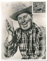 Dizzy Dean Signed Jsa Certed Full Letter 8x10 Photo Autograph Authentic